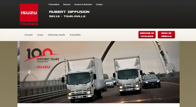 Site concession Isuzu