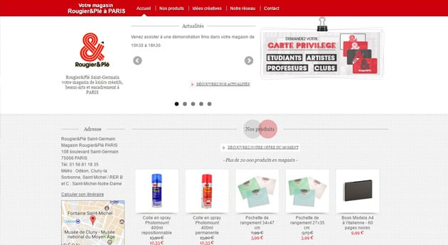 Site th�me Rougier